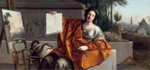 """Figura 9: """"L'Allegoria della Geometria"""" dipinto da Laurent de La Hyre nel 1649"""