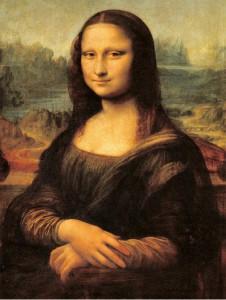 """Figura 8: """"La Gioconda"""" dipinto da Leonardo da Vinci nel 1503-1506, attualmente conservato al Museo del Louvre, Parigi"""