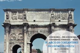 CONOSCERCI… PER CONOSCERE…. CONFERENZE ITINERANTI  -  ROMA